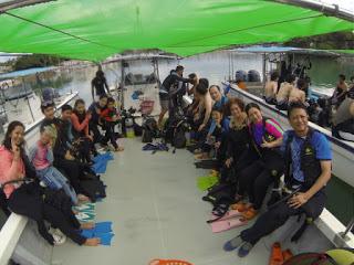 家族で体験ダイビング