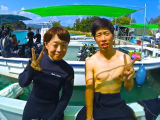 仲良しカップル体験ダイビング