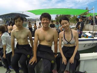 体験ダイビングに行ってきます