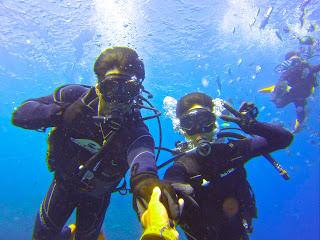 体験ダイビングは、貸し切り制になるので初めての方でも安心して楽しんで頂けます!!