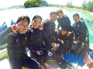 青の洞窟ボートシュノーケリングにご参加の2組6名様!!