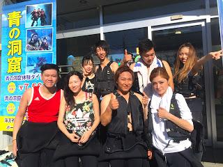 青の洞窟体験ダイビングとボートシュノーケリングにご参加のお4組8名様!!