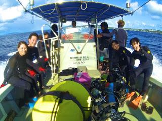 青の洞窟体験ダイビングにご参加の2組4名様!!